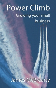 Power Climb - growing your small business cover