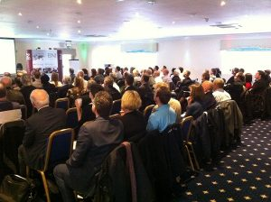 The audience at the Social Media presentation in Kent, February 2012