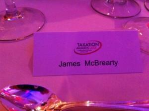 Taxation Awards Dinner 2012 Table