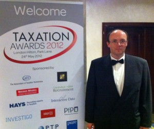 Taxation Awards Dinner 2012 - James McBrearty