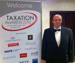 Taxation Awards Dinner 2012 - James McBrearty