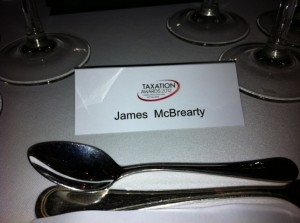 James McBrearty Taxation Awards Dinner