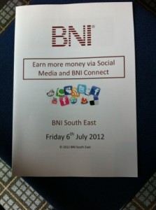 Another successful Social Media for business presentation