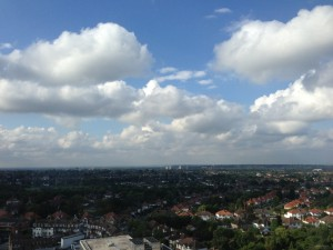 View from Tolworth tower