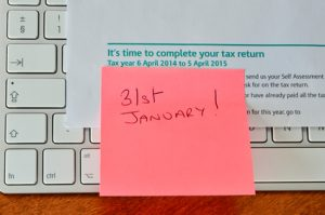 31st January 2017 HMRC tax return deadline