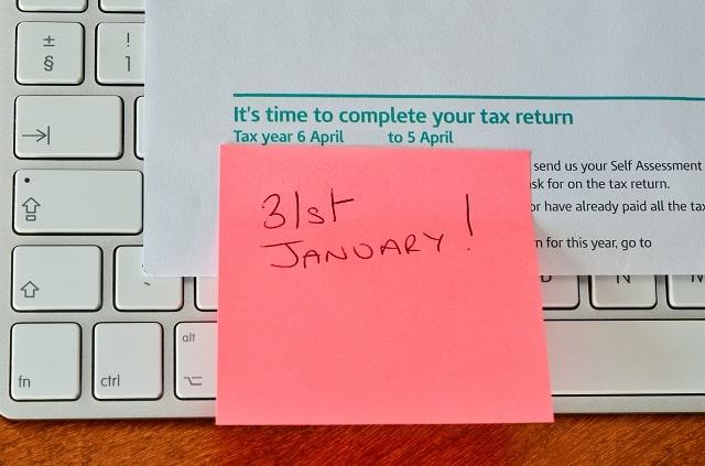 31st January 2019 HMRC tax deadlines