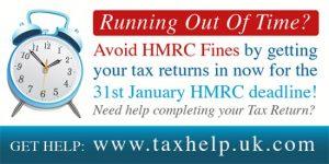 31st January HMRC tax return deadline