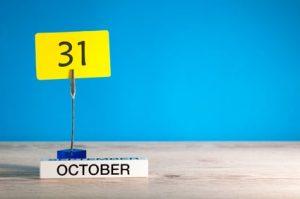 31st October 2018 HMRC tax return deadline