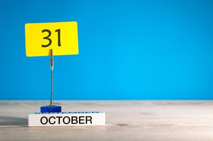 31st October 2018 HMRC tax return deadline