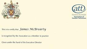 James McBrearty ATT Member in Practice