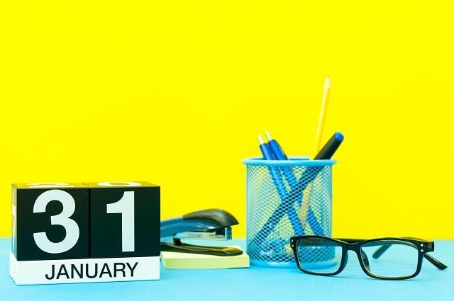 HMRC 31st January 2020 deadlines