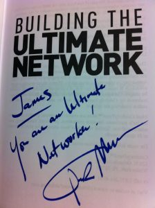 Building the ultimate network book