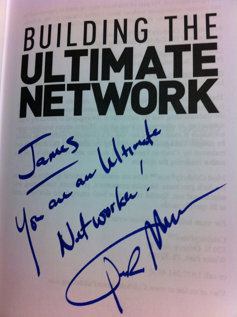Building the Ultimate Network, by Dr Ivan Misner