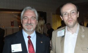 James McBrearty meets Dr Ivan Misner in Long Beach