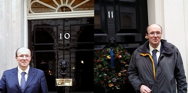 James McBrearty 10 11 Downing Street