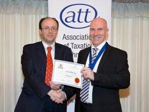 James McBrearty ATT Fellow - House of Lords Award Ceremony