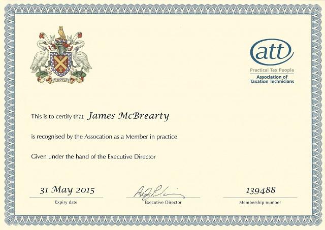 James McBrearty - ATT Member in Practice