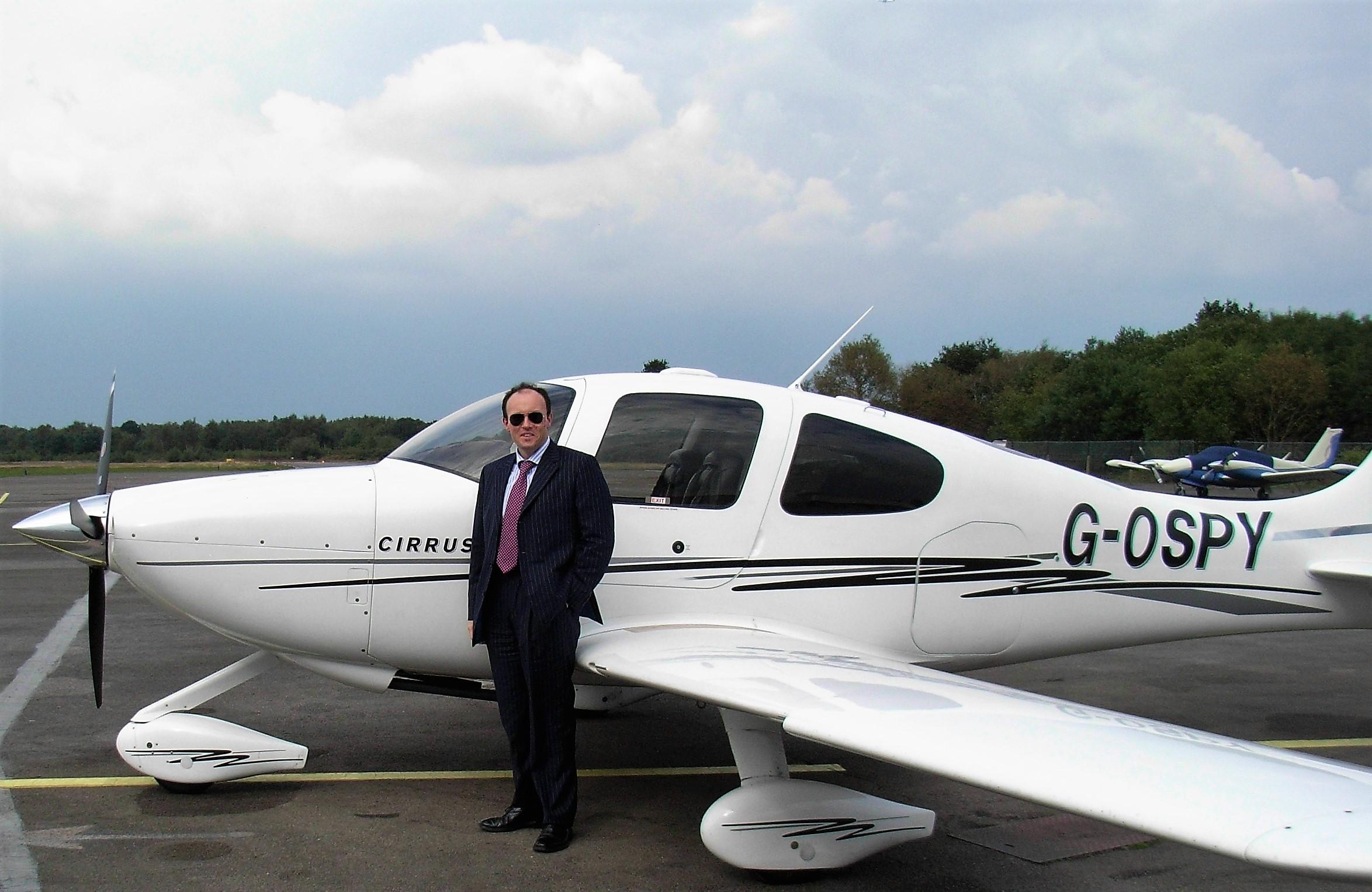 James McBrearty, pilot