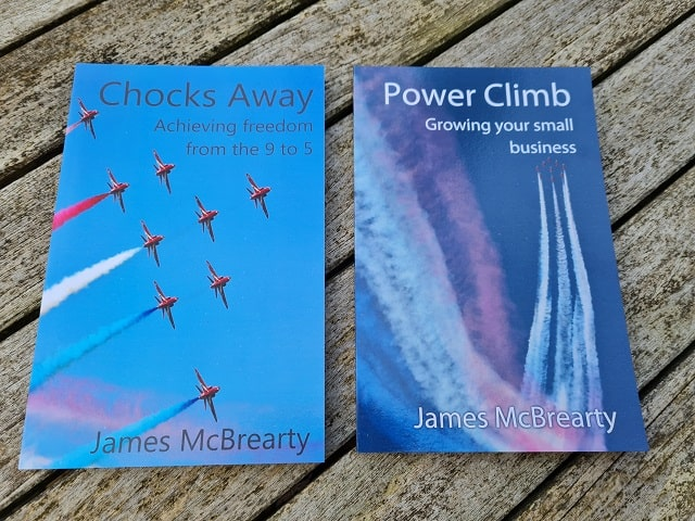 Two books by James McBrearty