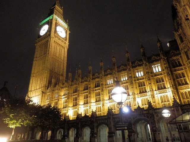 Big Ben Elizabeth Tower at night