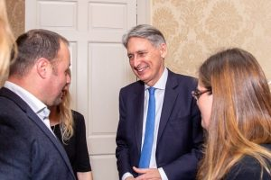 Philip Hammond Downing Street Nov 18 Small Business