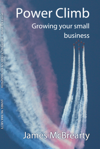 Power Climb Cover - James McBrearty author