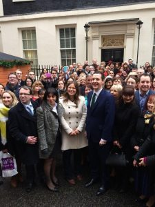 Small Business Saturday Group Downing Street