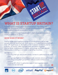 What Is Start Up Britain