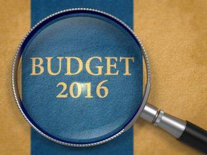 The budget 2016 #budget2016