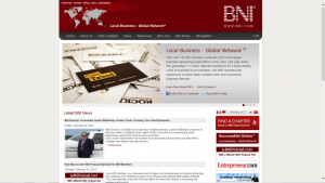 My second book is featured on the BNI homepage