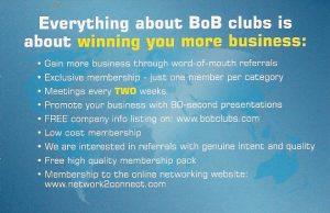 bob benefits