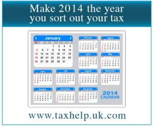 Sort out your tax in 2014