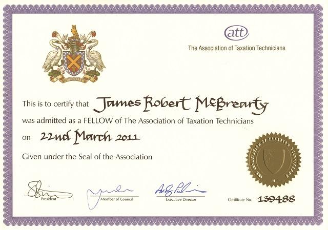 James McBrearty, ATT Fellow