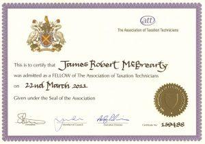 James McBrearty ATT Fellow 2011