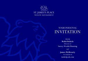 SJP Event Invite