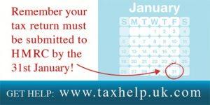 31st January deadline reminder