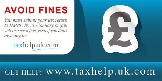 HMRC late tax return fine
