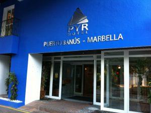Pyr Hotel Entrance