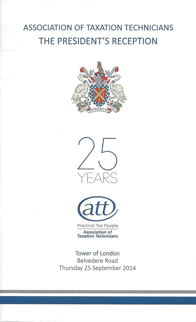 ATT President's Reception. 25ATT25