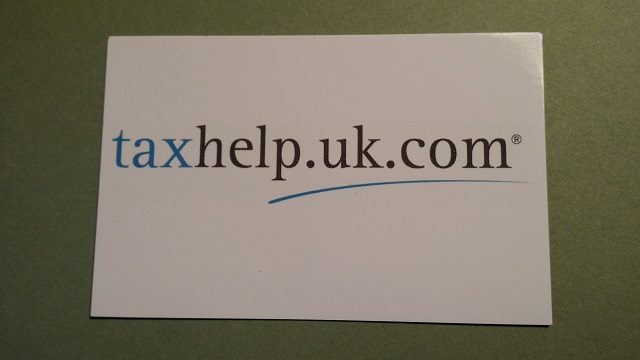 taxhelp 2015 business card